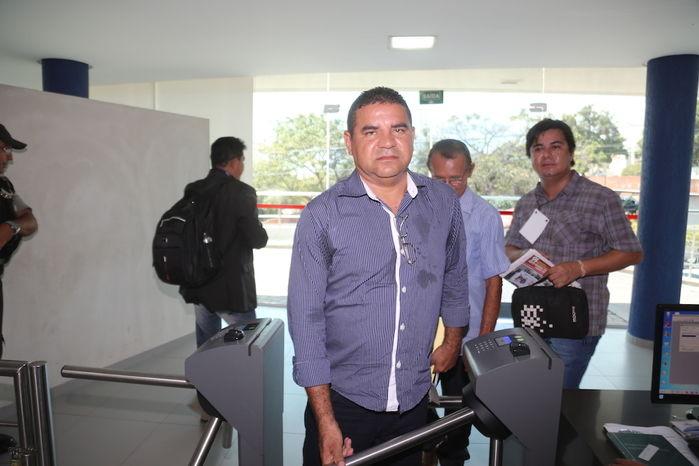 Candidato Tibério César (Crédito: Efrem Ribeiro)