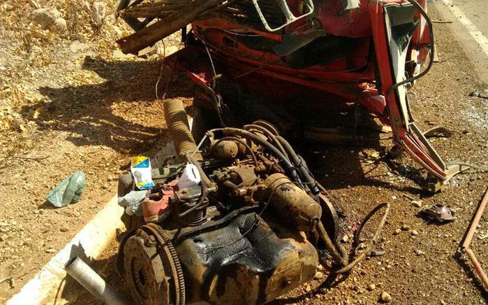 Acidente  com caminhão pipa