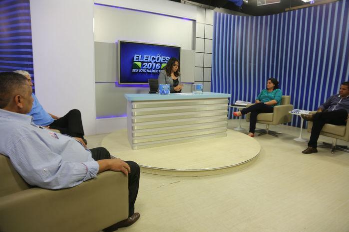 Debate promovido pela Rede Meio Norte (Crédito: Efrém Ribeiro)