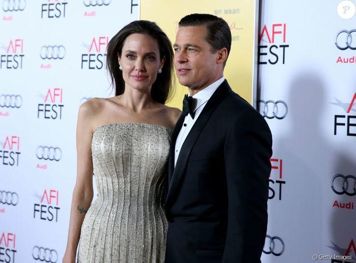 Brad Pitt e Angelina Jolie (Crédito: AFP)