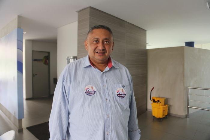 Candidato Paulo Limeira (Crédito: Efrem Ribeiro)