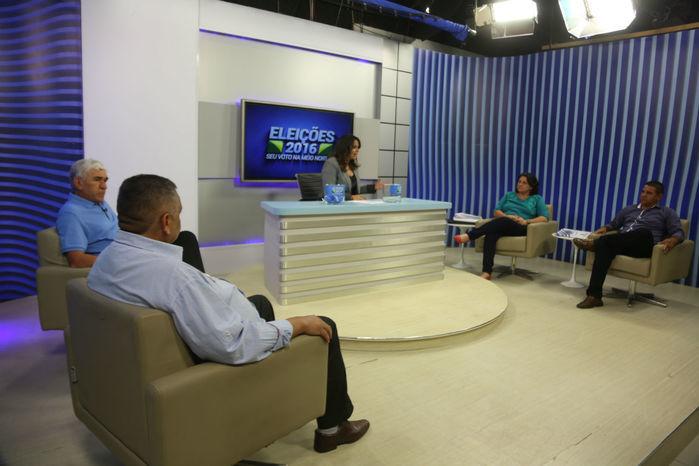 Debate com candidatos a prefeitura de Piripiri (Crédito: Efrém Ribeiro)