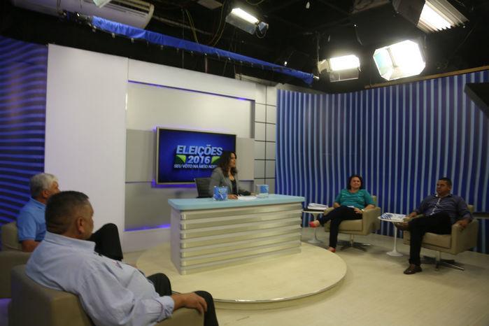 Debate realizado pela Rede Meio Norte (Crédito: Efrém Ribeiro)