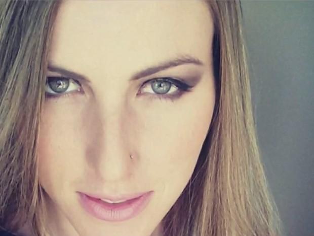 Modelo Aline Furlan foi achada morta no dia 31 de julho (Crédito: Arquivo Pessoal )