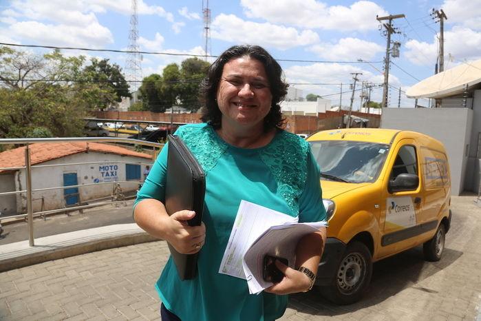 Candidata Jôve Oliveira (Crédito: Efrem Ribeiro)