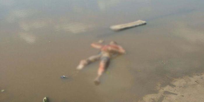 Corpo encontrado no Açude Laranjeiras (Crédito: Site Notícia Diária)
