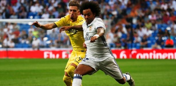 Marcelo em atuação pelo Real Madrid (Crédito: Reprodução)