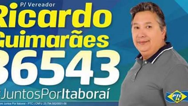 Capitão Guimarães era candidato a vereador (Crédito: Reprodução)