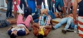 Candidatos de concurso da PM passam mal em viagem ao Ceará