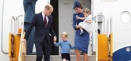 Charlotte rouba a cena e George leva bronca de Kate no Canadá