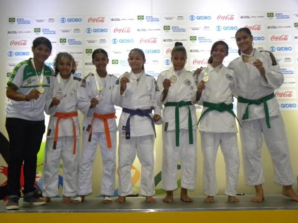 Medalhistas piauienses nos Jogos Escolares (Crédito: Fundespi)
