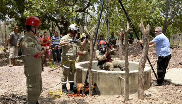 Lavrador morreu após passar mal em poço