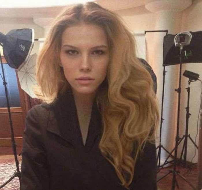 Modelo russa Anna Feschenko (Crédito: Arquivo Pessoal )