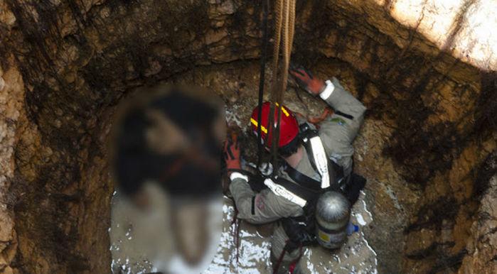 Lavrador morre após passar mal em poço