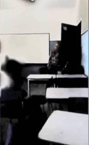 Professora suspeita de chamar aluno de macaco presta depoimento (Crédito: Reprodução)