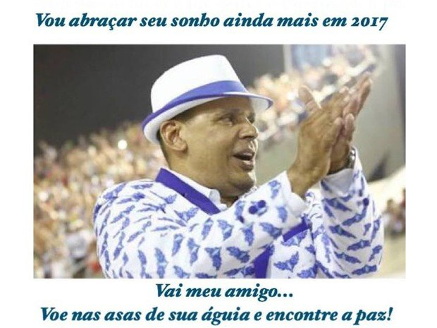 Presidente da Portela foi morto a tiros (Crédito: Reprodução)