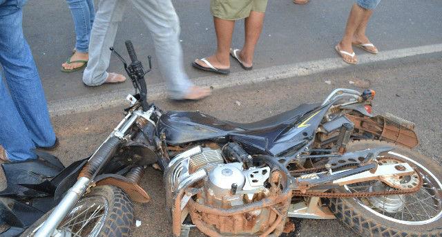 Veículo conduzido por Miguel Soares de Aquino Neto (Crédito: GrandePicos)