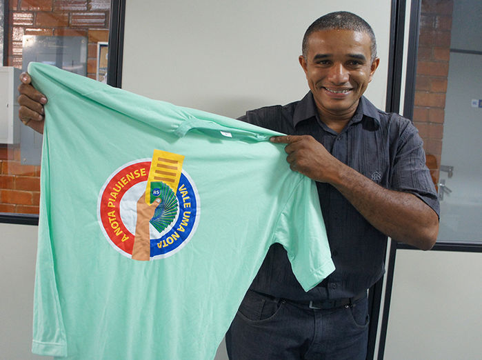 Franklyn da Silva ganhou R$ 50 mil  (Crédito: Assessoria)