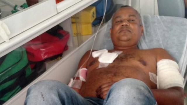 Cabo eleitoral é baleado em tentativa de homicídio