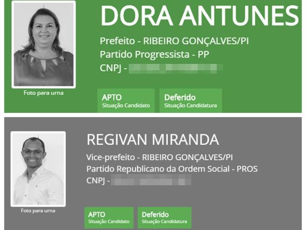 Doras Antunes e Regivan Miranda  (Crédito: Divulgação)