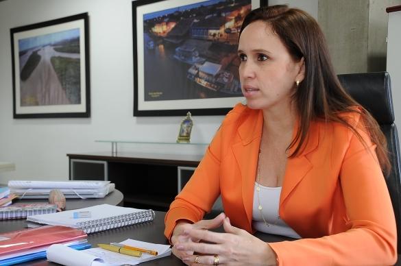 Superintendente de Parcerias e Concessões, Viviane Moura