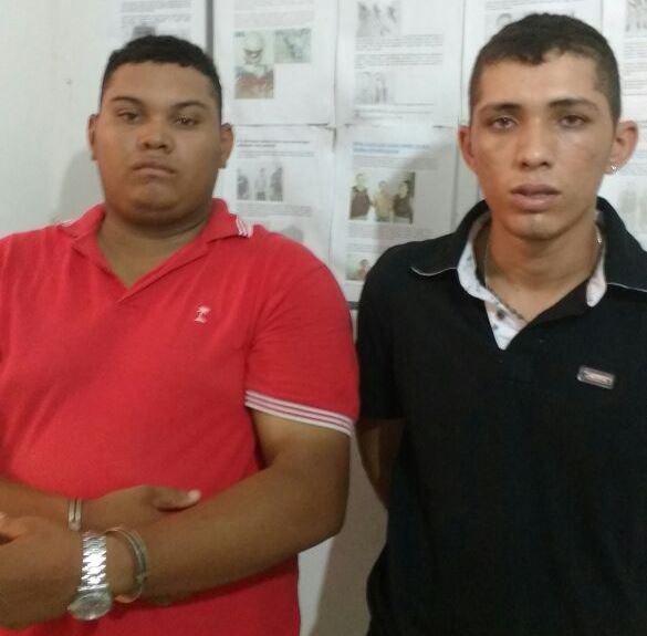 Railton do Nascimento Silva e  Petherson Araújo Lima (Crédito: Divulgação)