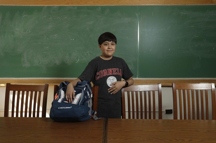Aluno de 12 anos bate recorde como o mais jovem em universidade  (Crédito: Reprodução)