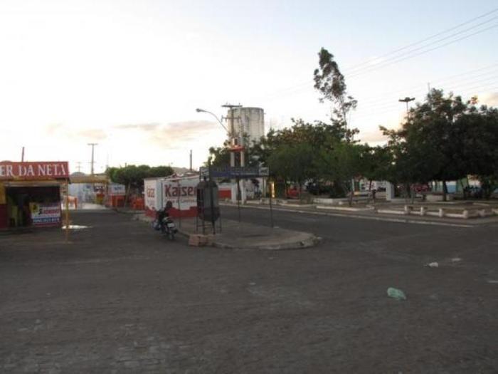 Praça onde ocorreu o crime