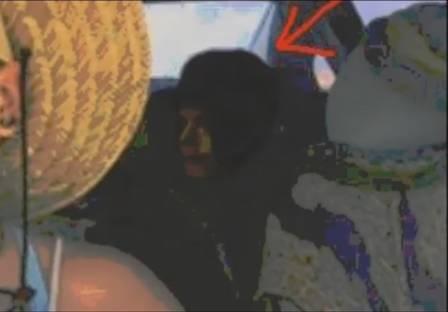 Suposta imagem de Michael Jackson (Crédito: Reprodução)