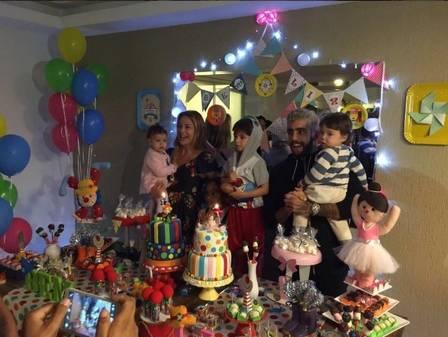 Luana Piovani e Scooby reatam o casamento em festa de gêmeos  (Crédito: Reprodução)