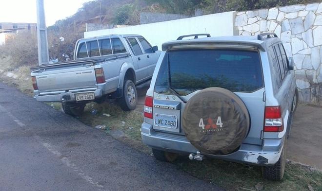 Veículos apreendidos com  Carlos Norberto da Silva