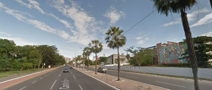 Avenida Marechal Castelo Branco (Crédito: Reprodução/Google)