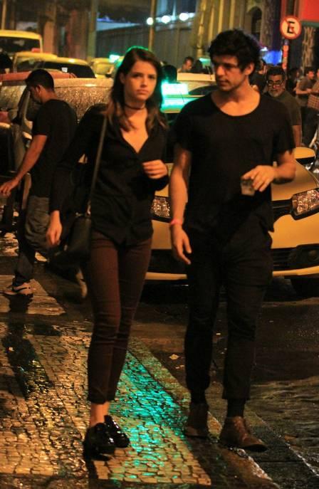 Agatha Moreira e Pedro Lamin (Crédito: Reprodução)