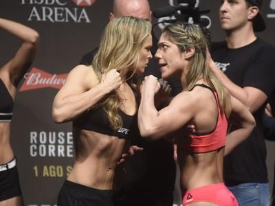 Ronda e Bethe (Crédito: Reprodução)