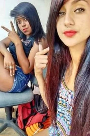 Letícia Ibiapino e Nicoly Santana (Crédito: Reprodução)