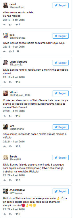 Silvio Santos faz comentário racista e é criticado na web (Crédito: Reprodução)