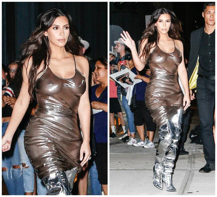 Kim Kardashian (Crédito: AKM-GSI/ Agência)