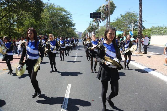 Desfile de 7 de setembro (Crédito: Efrem Ribeiro)