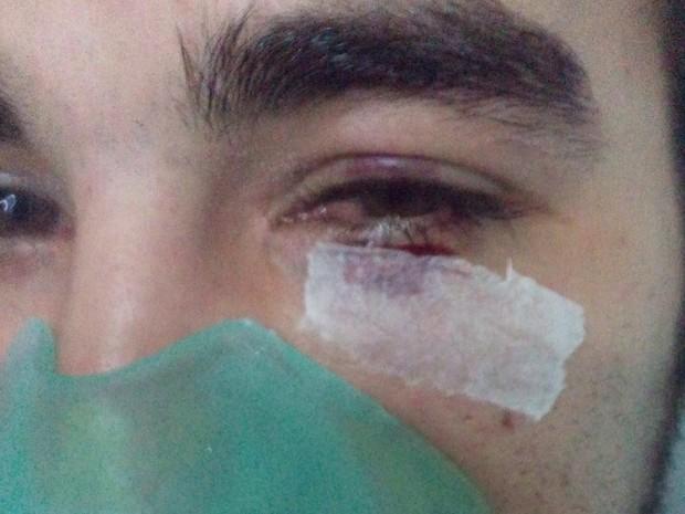 Paciente foi agredido após encontrar médico dormindo em SP (Crédito: Reprodução)