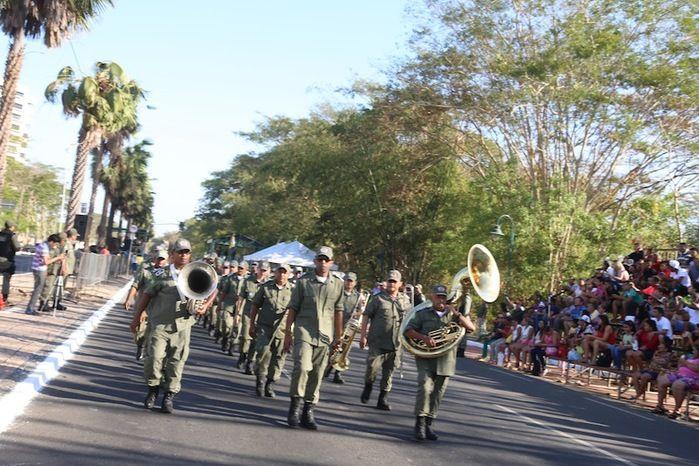 Desfile de 7 de setembro (Crédito: Reprodução)