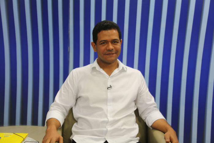 Luciano Leitoa é questionado por internautas (Crédito: Efrém Ribeiro)