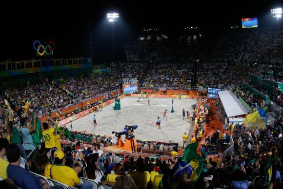 Arena do Vôlei (Crédito: Agência Brasil)