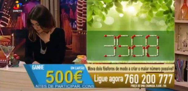 Apresentadora desmaia ao vivo em programa de TV de Portugal (Crédito: Reprodução)