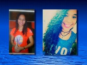 Bruna de Souza Torres, de São Francisco de Assis do Piaui, e Taiane de Souza Rocha, de Petrolina