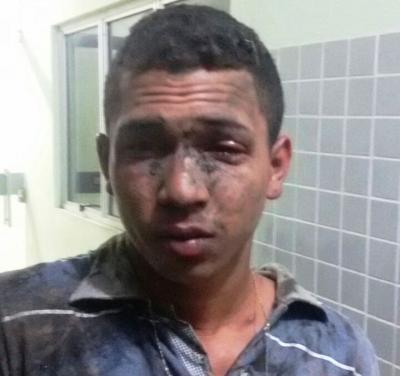 Acusado foi capturado pela polícia (Crédito: Reprodução)