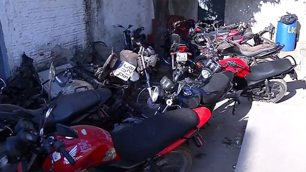 Policia descobre nova modalidade de roubo de motos em Teresina  (Crédito: Rede Meio Norte)