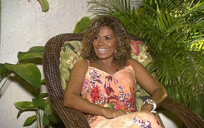 Debora Brasil foi a primeira dançarina morena do É o Tchan