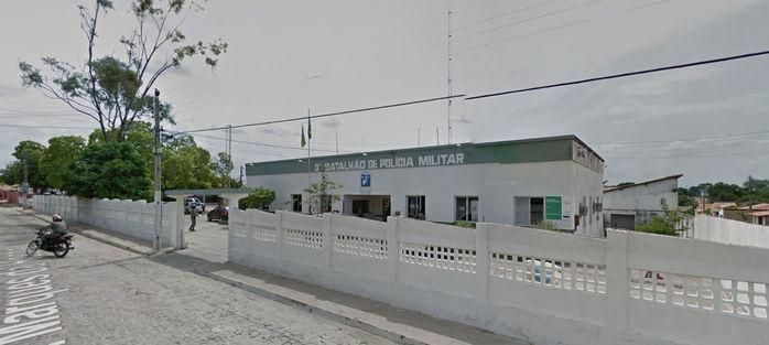 3º Batalhão da PM, em Floriano (Crédito: Reprodução)