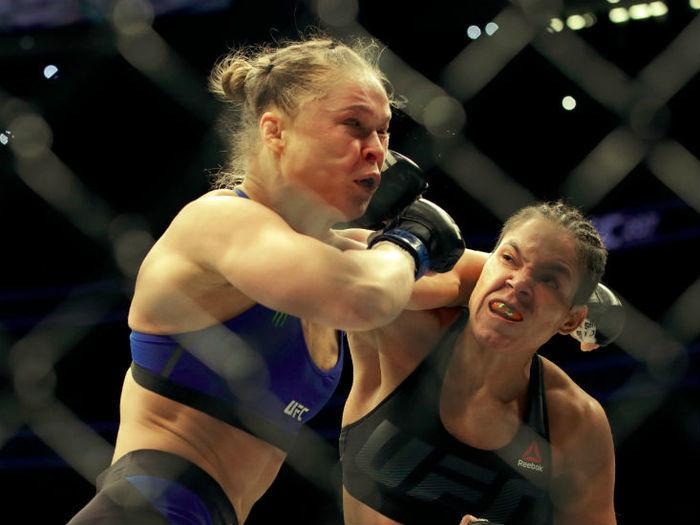 Americana foi nocauteada pela brasileira Amanda Nunes (Crédito: Reprodução)