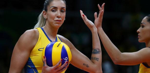 Estrela da seleção brasileira, Thaísa defende o Eczacibasi Vitra, de Istambul (Crédito: Reuters)